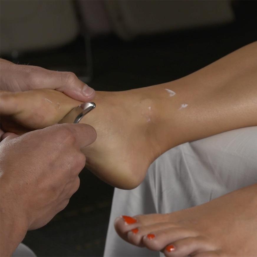 IASTM In Acciaio Inox Strumenti Guasha Raschiare Strumenti di Massaggio In Metallo Gua Sha Rilascio Miofasciale Sollievo Muscolare