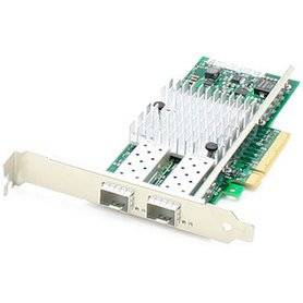 ADDON TECH 665243-B21-AO - AddOn HP 10Gigabit Ethernet Card - PCI Express x8 - 2 Port(s) -
