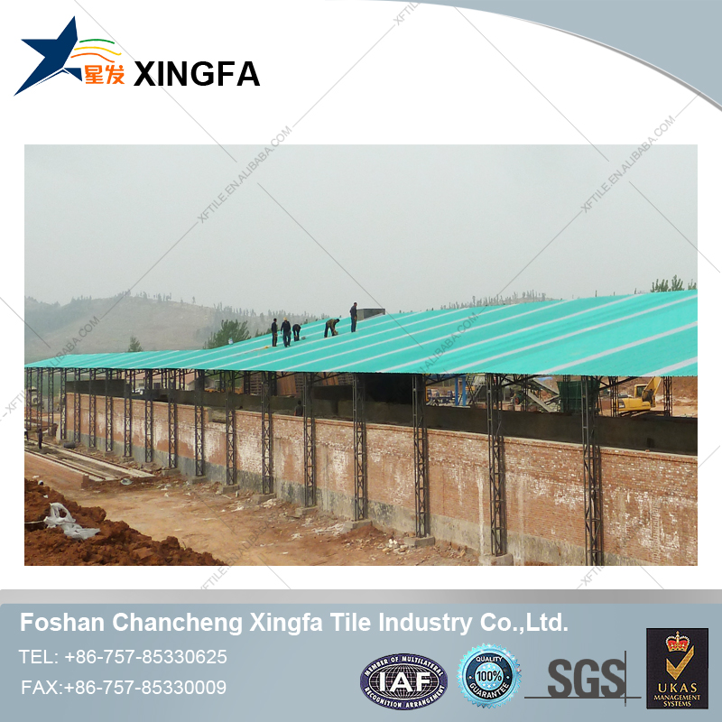 Chinese roof design 3 layers long term color stability building roofing sheet