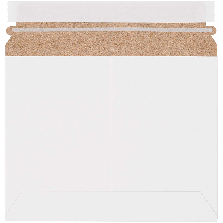 "Boxes Fast BFRMU97W Utility White Flat Mailers, 9"" x 7"", White (Pack of 200)"