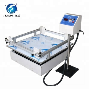ISTA 3A standards simulate car shipping carton vibration test machine