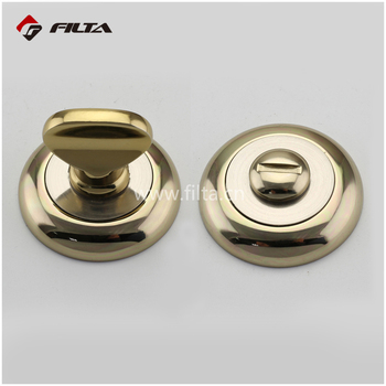 Gold Decorative Door Handle Marine Euro Profile Door Escutcheon