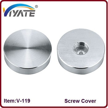 Decorative Chrome Caps Decorative Screw Cover,Cabinet Screw Cap ...