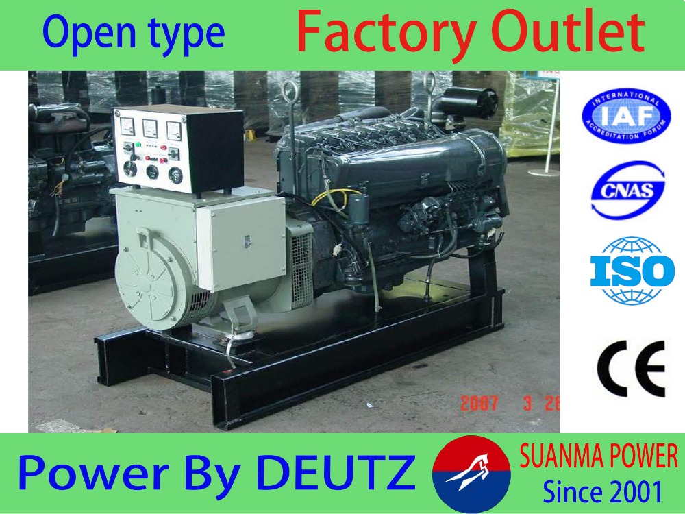 90KVA Air-cooled Deutz Derv generator Diesel Dynamo Genset
