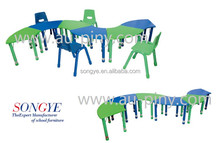 AP good quality school and kindergarten furniture kindergarten desks and chairs kids study table and desk
