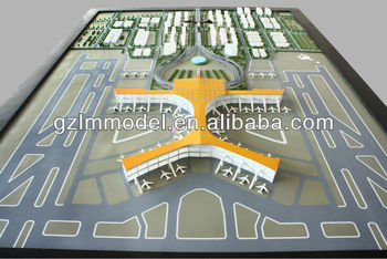 Customized Airport Layout Scale Model Making