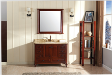 solor caf clsica moderna de madera maciza mueble de bao vanidad