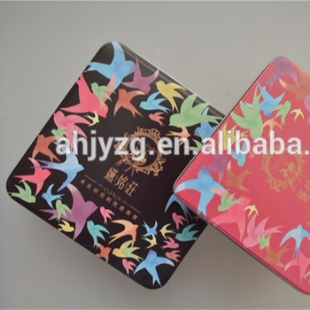 Square Shape Small Metal Tin Boxes Walmart Gift Tin Boxes For Cookies Makeup Box Without Printing Buy Square Shape Small Metal Tin Boxes Gift Tin