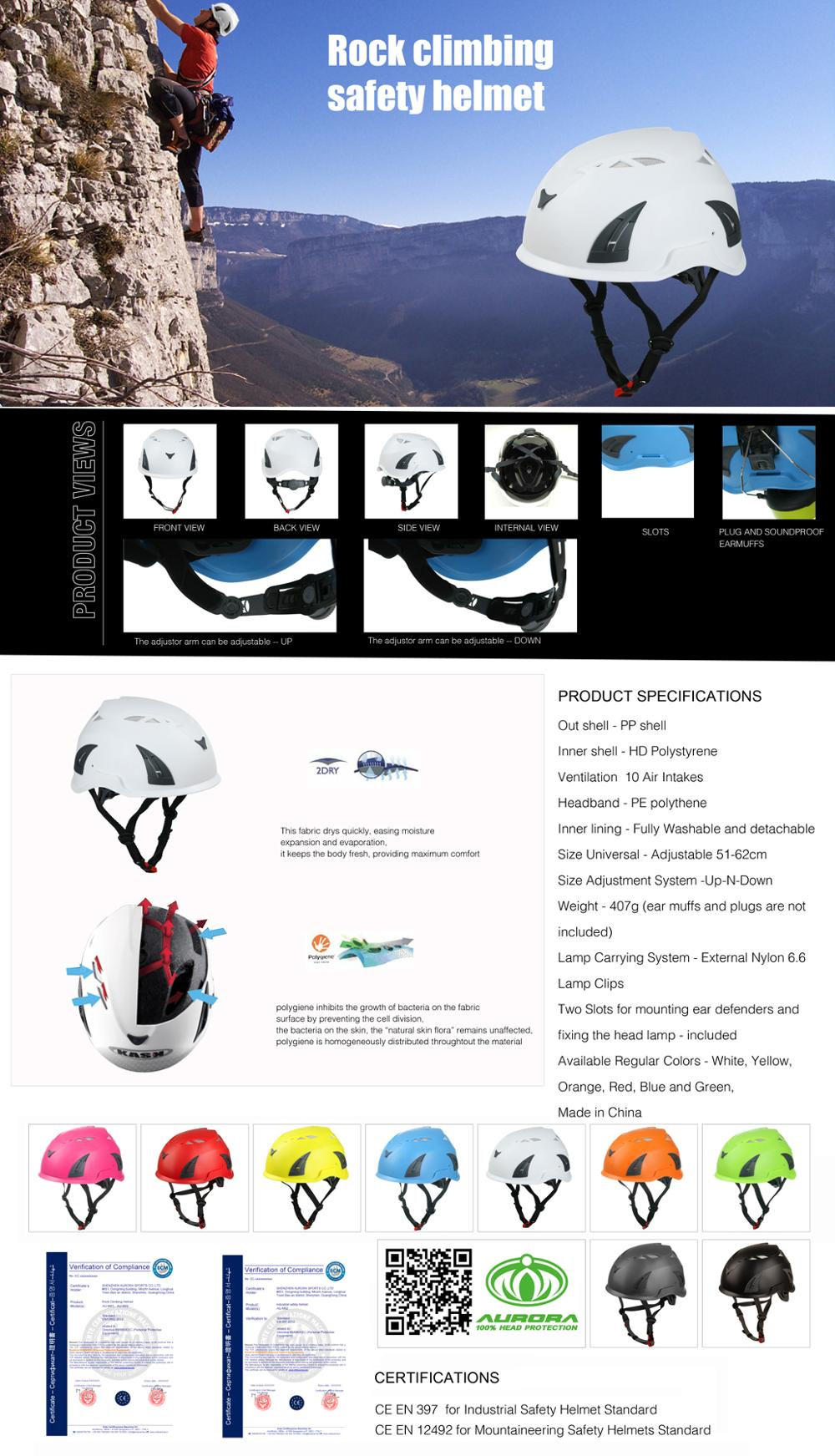 9 Colors Climbing Helmet For Water Sports/Rescue/Climbing 5