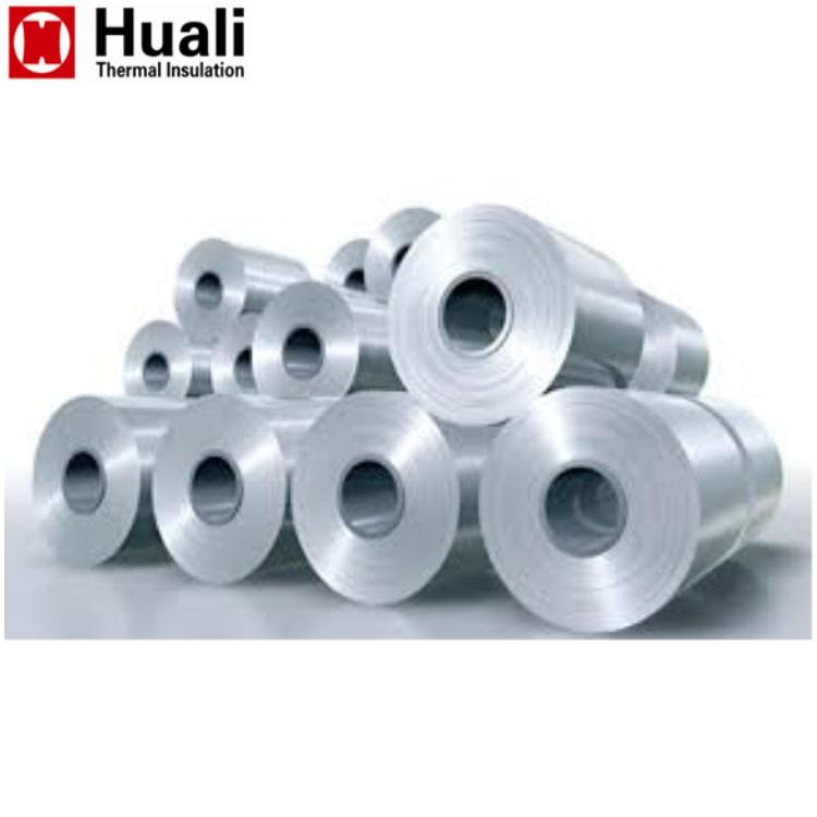 Bobina de aluminio de aleación 1060 3003 suave estuco en relieve de aislamiento de aluminio rollo de lámina de metal de los precios de los