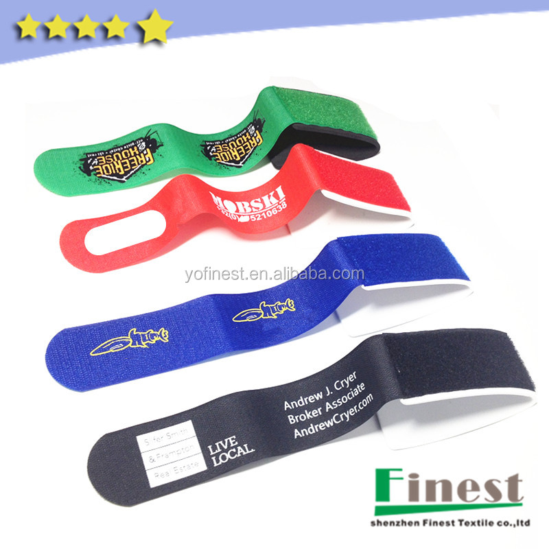 Winter sports accessories custom ski ties for carrying skis