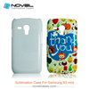 3D Sublimation Blanks Case for Samsung Galaxy S3 Mini