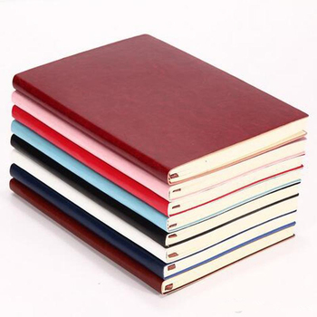 2018 Hot sale faux leather notebook custom pu diary covers