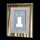 open hot girl photo sexy women japan nude girl mirror glass picture photo frame with metal alloy frame