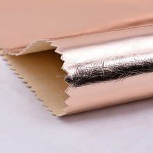 high quality real pu coated cow leather cow crust leather cow napa leather in crocodile pattern