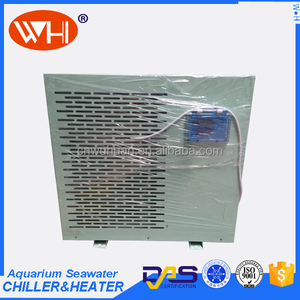1.0HP Small Aquarium sea water chiller unit for water heating and cooling