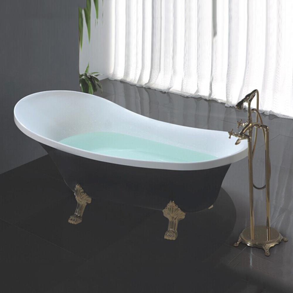 Hs-b511 Freestanding Bathtub Ball Claw Feet/clawfoot Tub/black ...