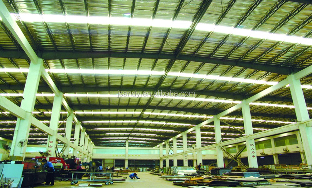 Andy light steel structure warehouse design