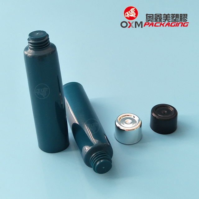Hot sale 16MM plastic cosmetic tube, is cosmetic packaging apply to all kinds of cream tube with PE material