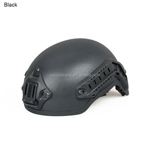 Hunting equipment Military Black Tactical Sssault Helmet With Night Vision Goggle Mount And Side Rail