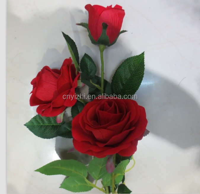 Artificial Flower Bouquets/wholesale Silk Flowers/wire Nylon Flowers ...