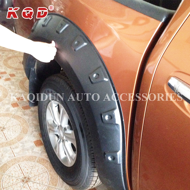 Factory price 4X4 auto parts fender flares wheel cover 6 PC for hilux vigo 4x4 car fender flare