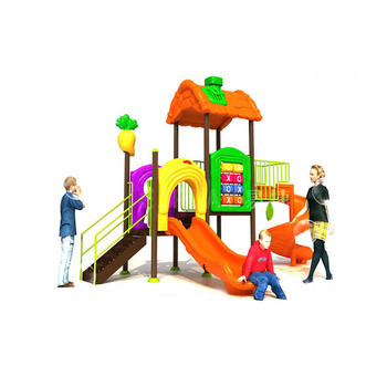 Hot Selling Good Quality New Outdoor Playground Children Plastic Slides