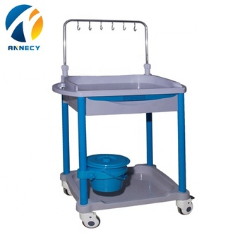 AC-IT040 single bucket simple simple  medical instrument infusion trolley