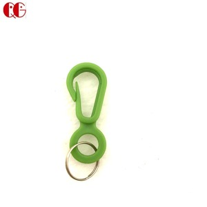 Wholesale PP small plastic spring clip strap hooks rotary swivel snap plastic hook