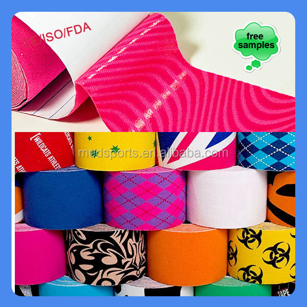 Porous Custom Sport Patterned Athletic Tape