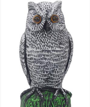 Bird Scare Owl Animal Repeller Garden Owl Protect Family