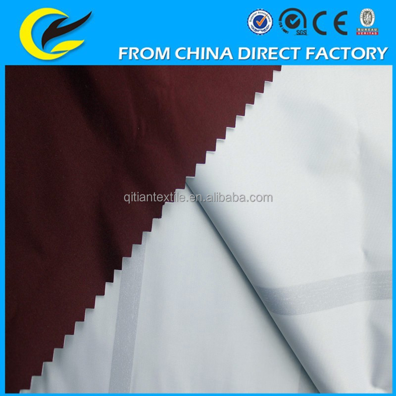 pu coated polyester fabric for outdoorwear
