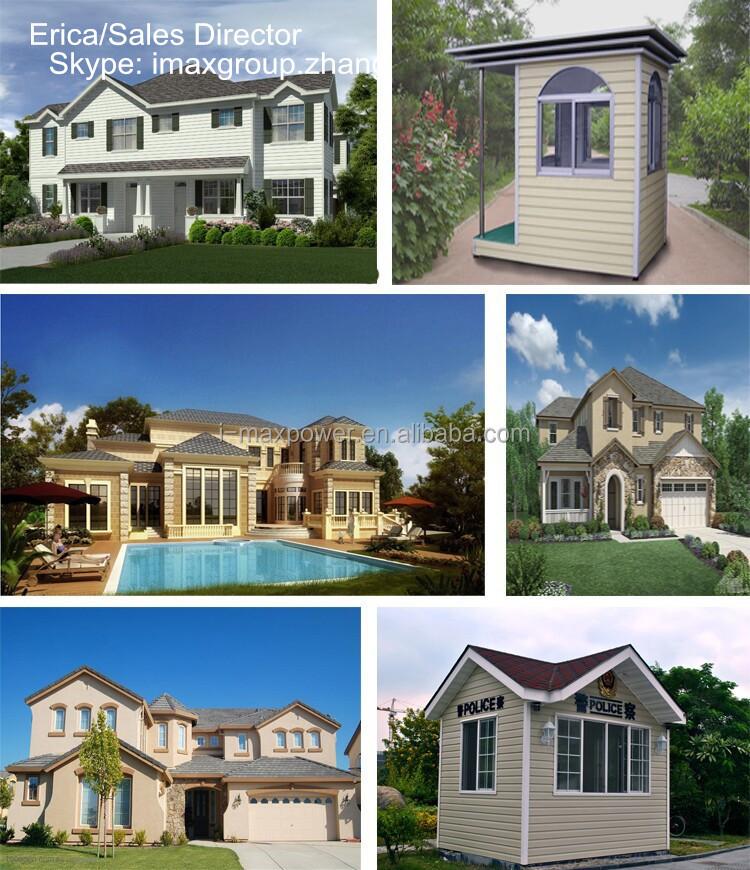 La casa prefabricada de acero ligero casas prefabricadas - La casa prefabricada ...