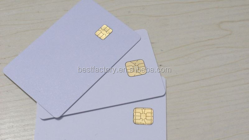 iso7816 blank contact ic card 1405