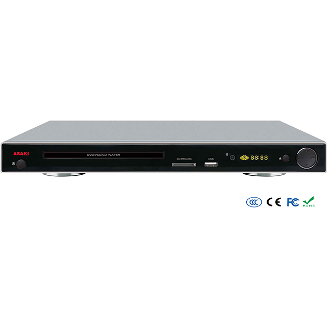 Desktop home use 5.1ch 2ch USB SD KARAOKE CD-G ripping copy DVD player