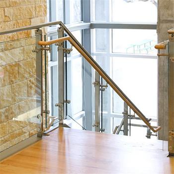 Innen Glas Treppengelander Mit Handlauf Aus Edelstahl Gelander Buy