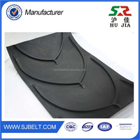 Wholesale China Supplier Chevron Conveyor Belt Portable V,Y,A Type