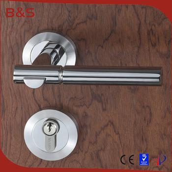 Inox 80 New Fashionable Style Metal Wooden Interior Door Lever Handle