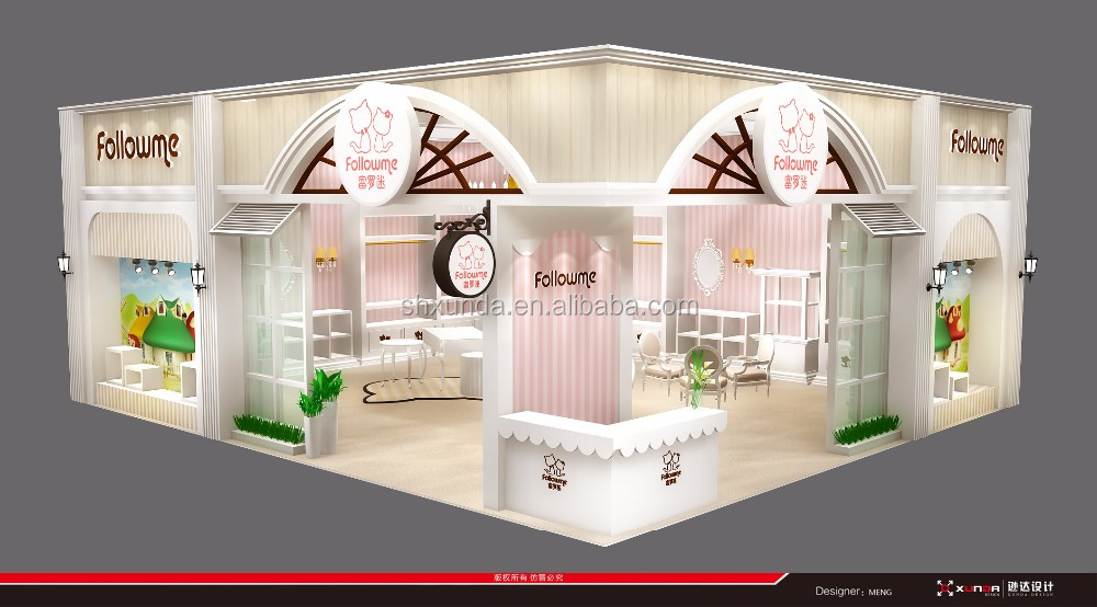 Exhibition Booth Fabrication : Baby product exhibition booth design fabrication buy