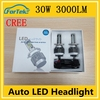 auto accessories wholesale led auto h4 12v 30w headlamp china exporters H4 cr*ee led
