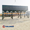 horizontal cement silo 10-2000T Customized Portable Horizontal Fly Ash Cement Silo On Sale