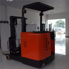 1ton 1.2ton 1.5ton 2ton Powered Pallet Stacker Electric Reach Truck for Warehouse used