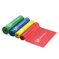 Sport Yoga Elastic Bands Natural Latex Elastic Exercise gym for Physical Therapy Long stretching resistance fitness bands