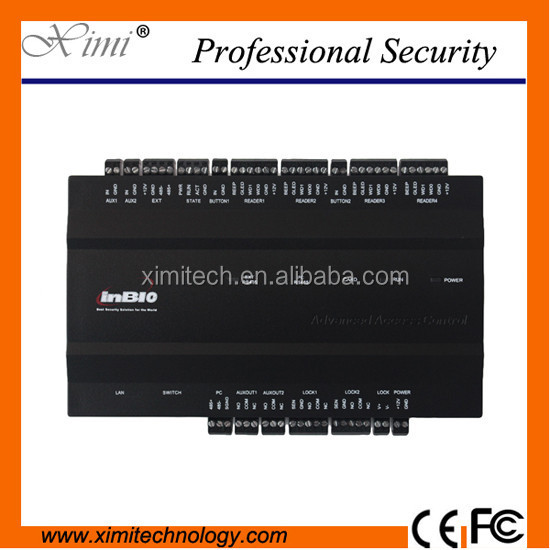 New arrival TCP/IP usb inbio serious fingerprint access control panel access control board high security 2 doors systems