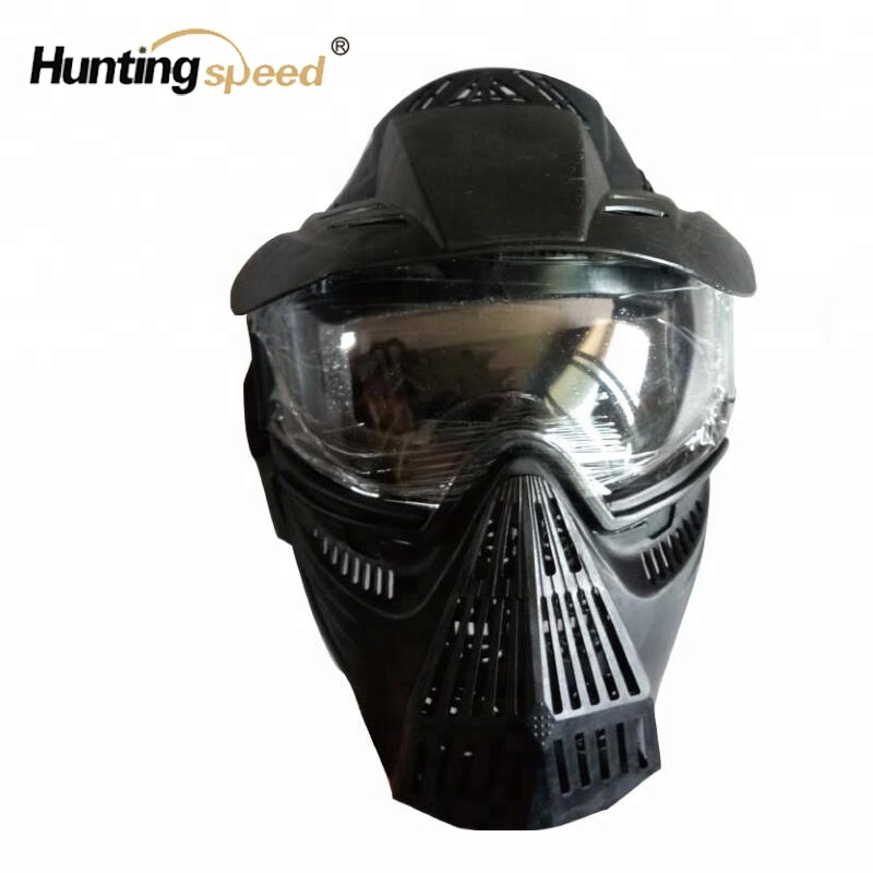 Hunting Useful Face Protector For Shooting Archery Tactical Outdoor Game Tag Safety Protective Black Mesh Hunting Party Guard Bow For Cs Bow & Arrow