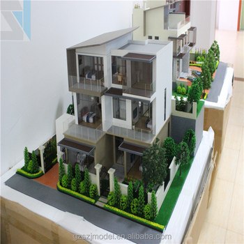 Miniature house model Laser cut model building Resin miniature