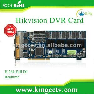 16 channel hikvision board dvr board hardware dvr board HK-DS4016HCI