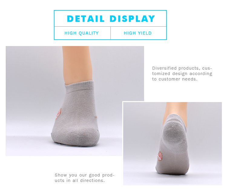 High Quality Custom Wholesale Happy Breathable Low Cut Invisible No Show Socks For Women