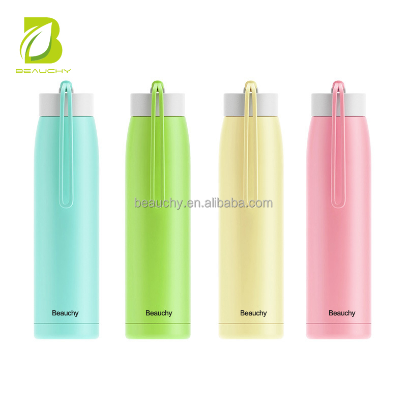 Custom logo vacuum insulated sports thermal water bottle for cold and hot