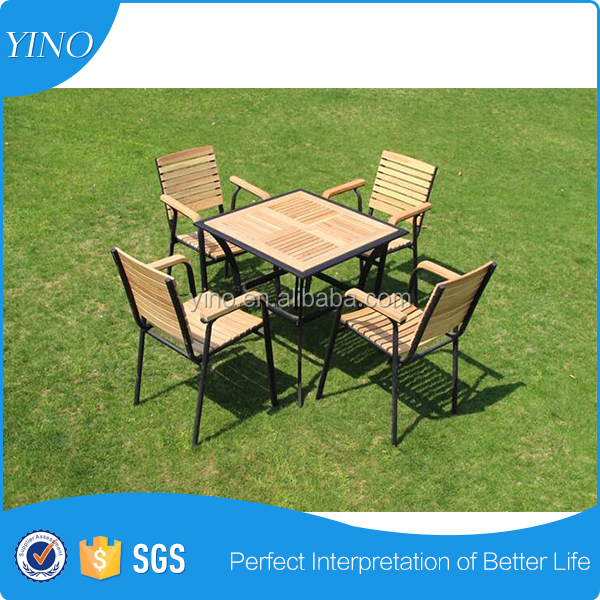 PS furniture table and chairs strong and light garden furniture PS019